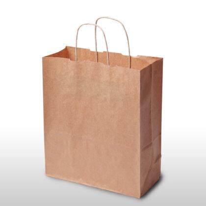 Plain Kraft Brown Bags  Normal/Twisted Handles