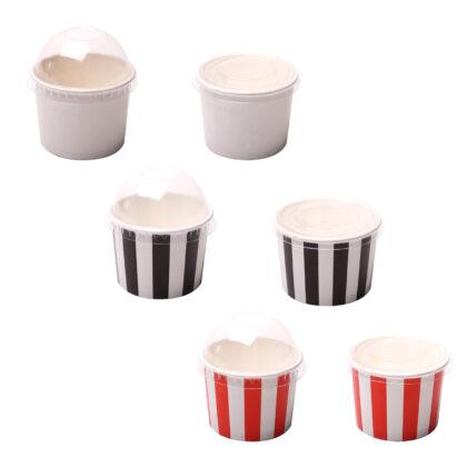 Ice Cream Cups  3oz/5oz/8oz (25 Pcs)