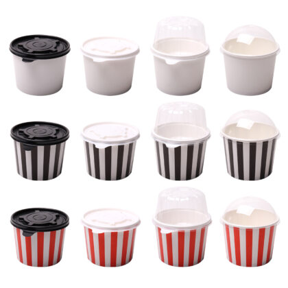 Food Containers  280ml/440ml/500ml (25 Pcs)